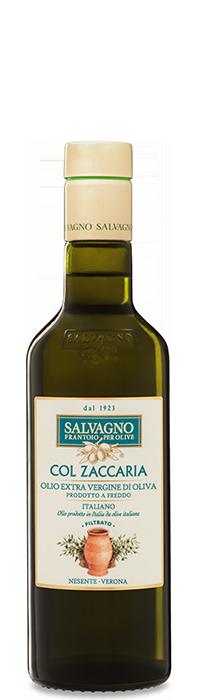 """Immagine Olio extravergine di oliva """"Col Zaccaria"""" bottiglia piccola"""